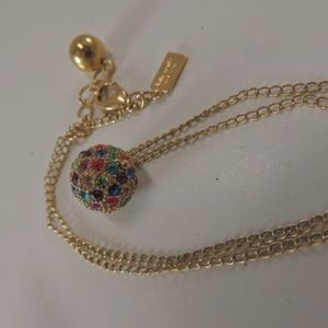 Kate Spade Rainbow Cluster Ball Pendant Necklace